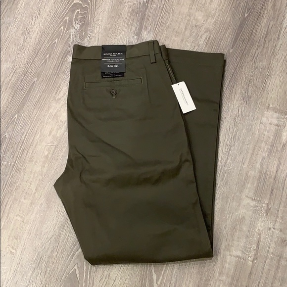 Banana Republic Other - Emerson stretch chino new with tags 34x32